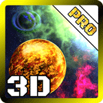 3D Space Planets LWP