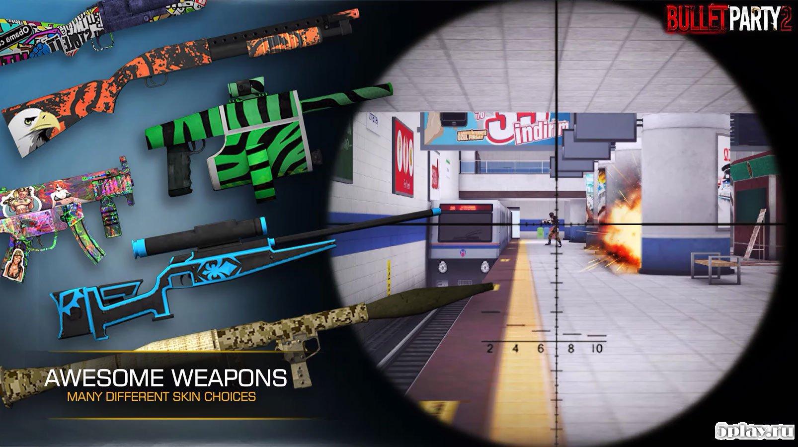 Bullet Party CS 2 Mod Apk – GO STRIKE 3