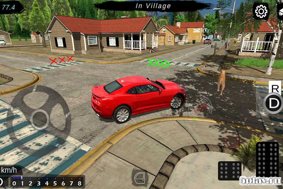 car driving and parking school mod apk revdl