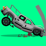 ELASTIC CAR 2 CRASH TEST