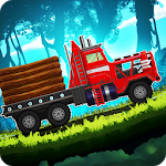 Truck Driving Race 4: Forest Offroad Adventure