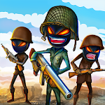 Stickman Royale : World War Battle