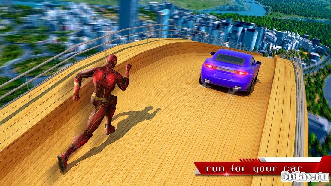 Download Super Speed Hero Mega Ramp Racing Stunts 1.1.1 ...