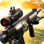 Black Battlefield Ops: Gunship Sniper Shooting
