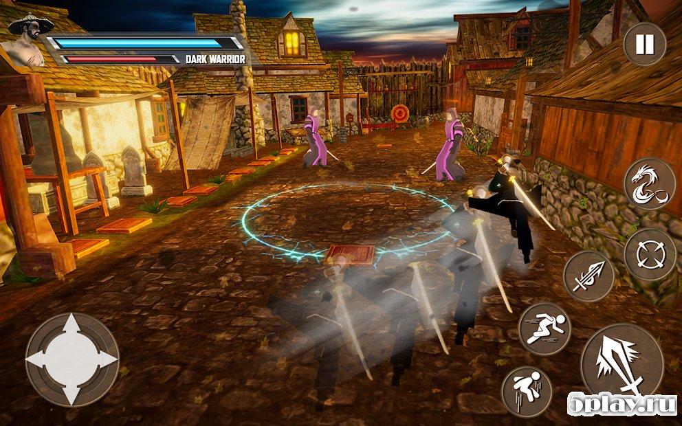 Download Shadow Ninja Warrior - Samurai Fighting Games 2018 v1 1 APK